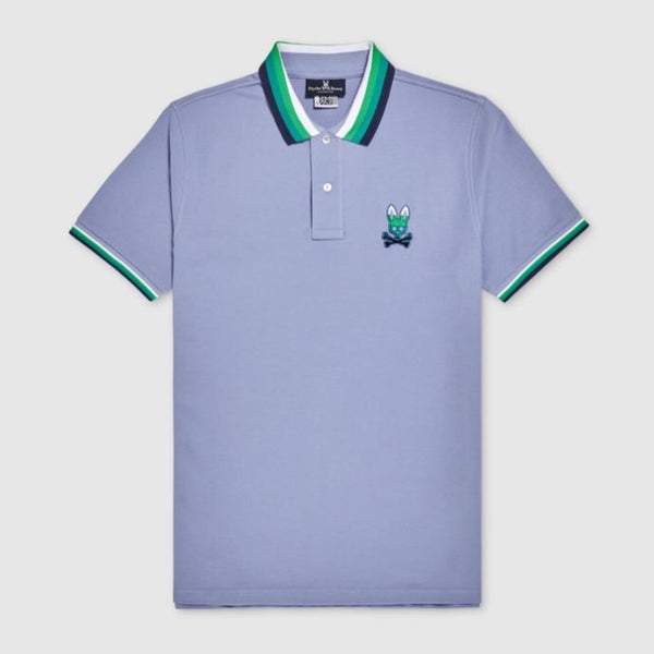 Psycho Bunny-Men's Westhorpe Polo-Vast Sky