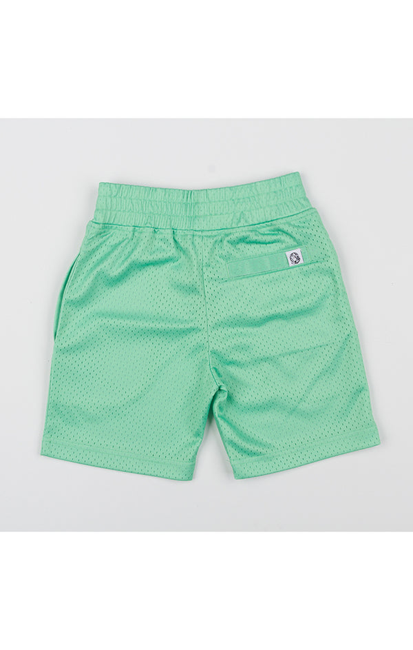 B.B.C Kids-BB Diamond Shorts-Green