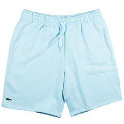 LaCoste-Men's SPORT Tennis Fleece Shorts-Light Blue • F8r-GH2136-51
