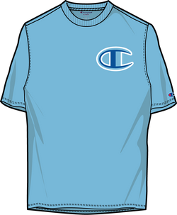 Champion-Floss Stitch C Logo-H.Blue-GT19Y07981