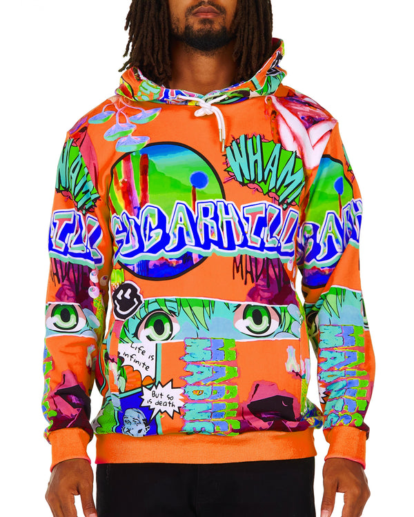 Sugarhill-Lucid Dream Hoodie-Creamsicle