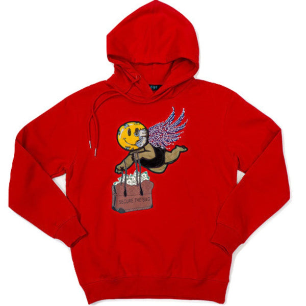 Focus-Secure The Bag Hoodie-Red
