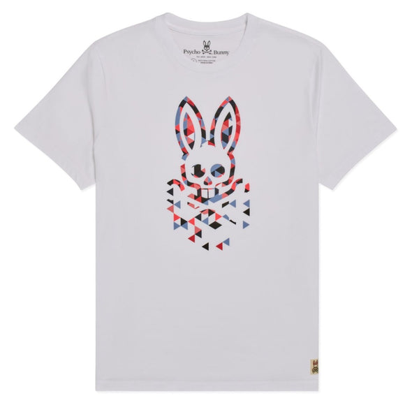 Psycho Bunny Kids-Boys Alexander Graphic Tee-White