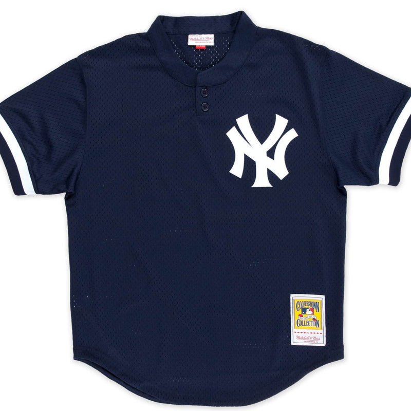 Don Mattingly 1995 Authentic Mesh BP Jersey New York Yankees