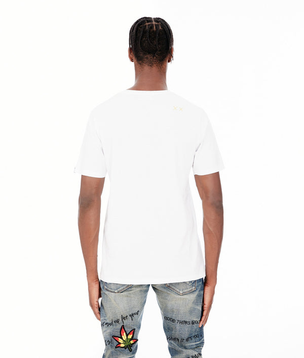 Cult Of Individuality-Marley Classic Short Sleeve-White