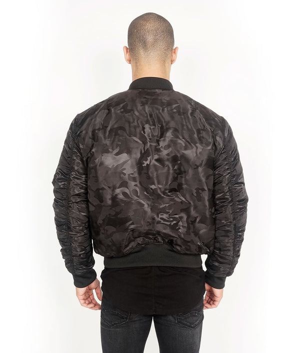 Cult Of Individuality-Reversible Bomber-Black Camo-67B9-B105O