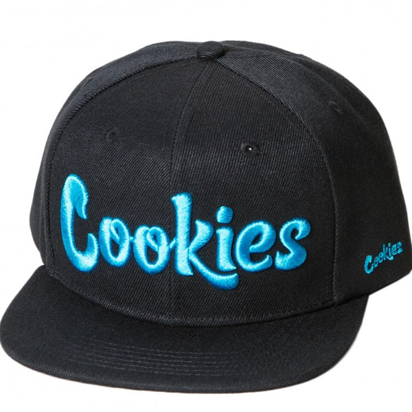 Original logo Snapback (Black/Blue)