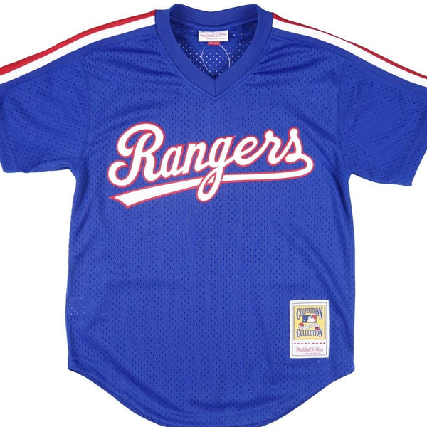 Nolan Ryan 1989 Blue Texas Rangers Authentic Jersey