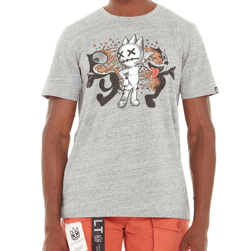 Cult Of Individuality-Felix Tee-Heather Grey-620A5-K64A
