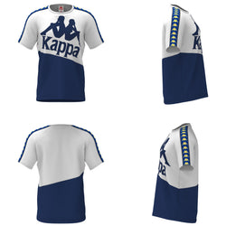 Kappa-222 Banda Baldwin-White/Blue/Yellow-304NQB0