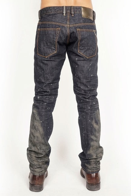 Cult Of Individuality-Rocker Slim Jeans-Mudd-67B12-RS13F