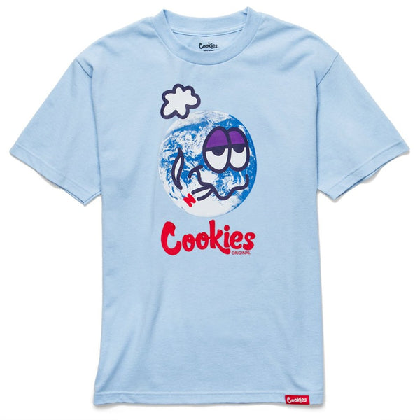 Global Warming Tee-Powder Blue