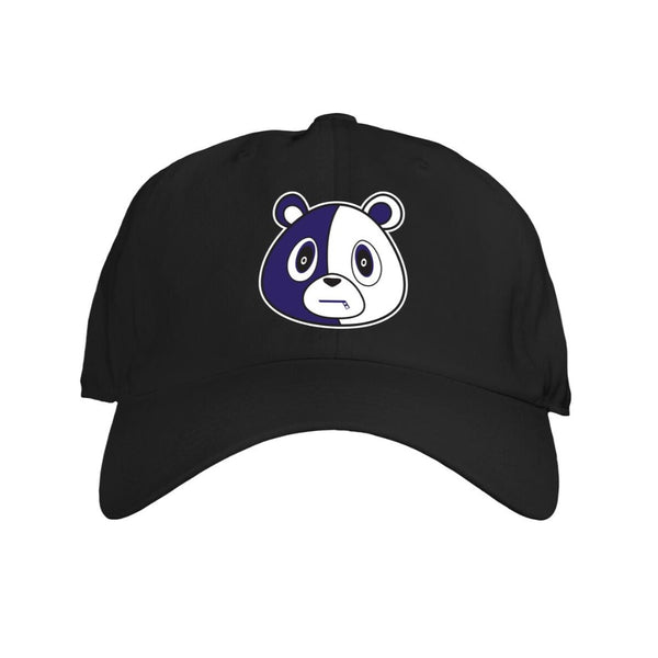 Bear Hat-Black/Purple