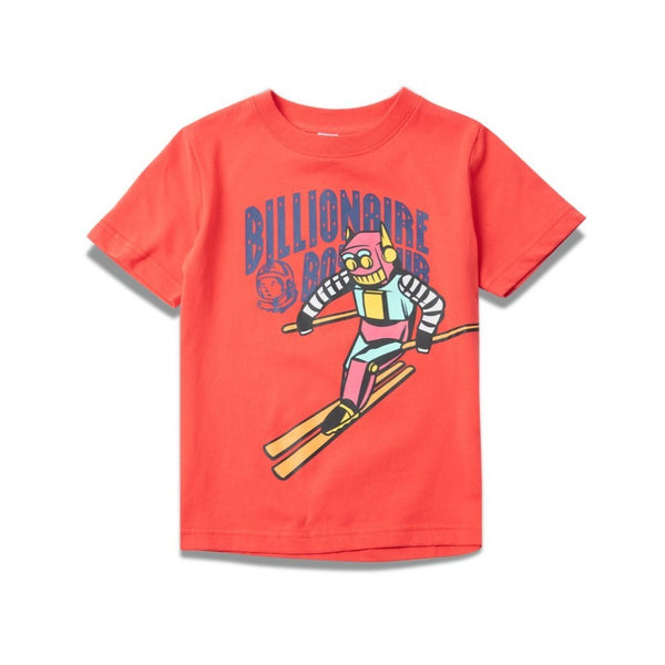 B.B.C Kids-BB Sloped SS Tee-HIbiscus