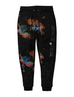 Dream Land-Soundwave Fleece Sweatpant-Black