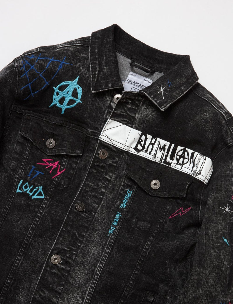 Dreamland-Disobedient Jean Jacket-D2002O0226