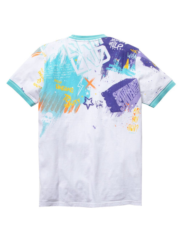 Dreamland-Jazz Tee-White