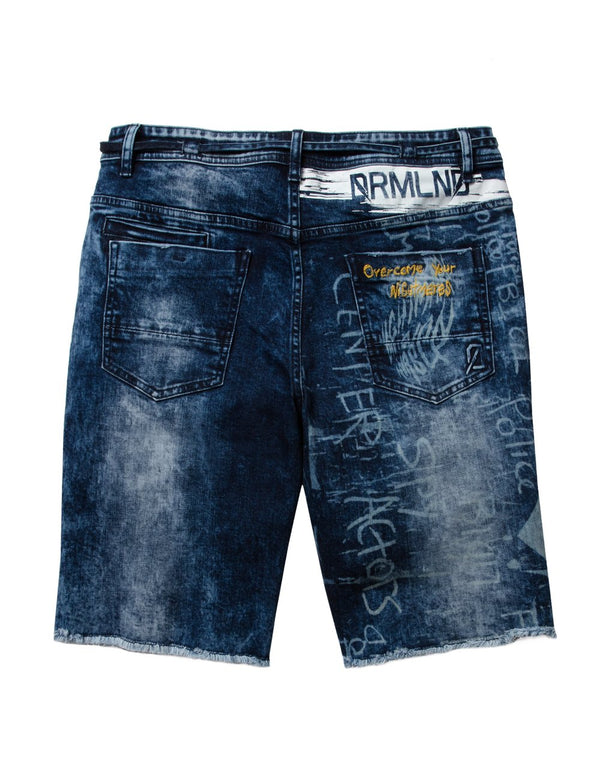 Dreamland-Butter Denim Shorts-Med Stone Wash