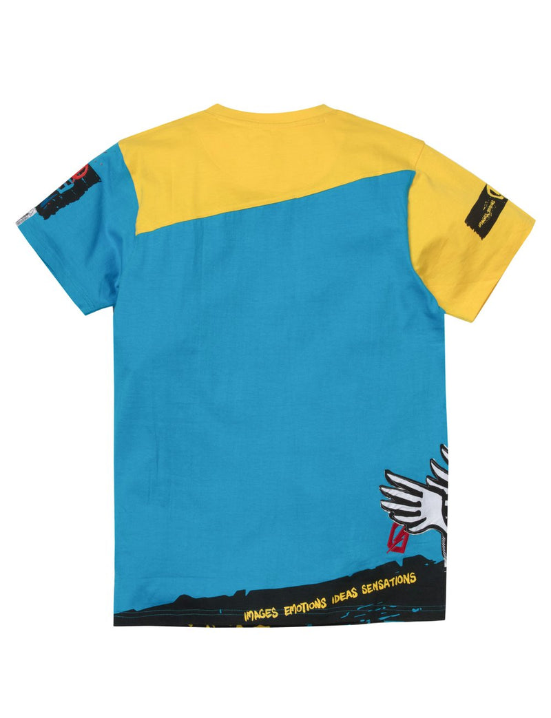 Dreamland-Hunted House Fit-Blue/Yellow-D1905TB0123