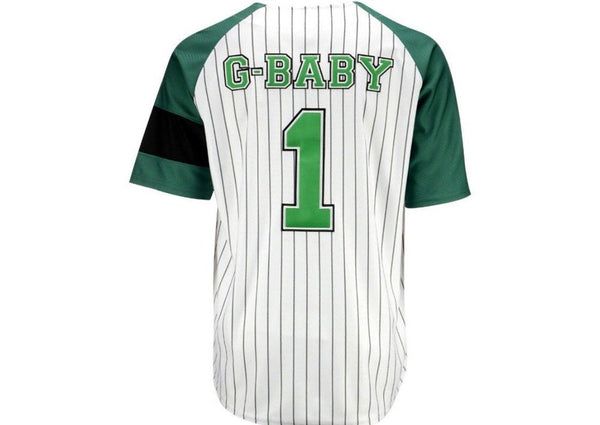 Head Gear-Hardball Kekambas G-Baby Baseball Jersey-White