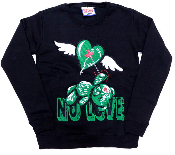 Retro Label-1'S NO LOVE WINGED PINE-Blake/Green