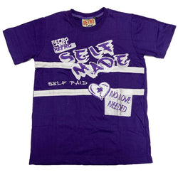 Retro Label-Self Made-Purple