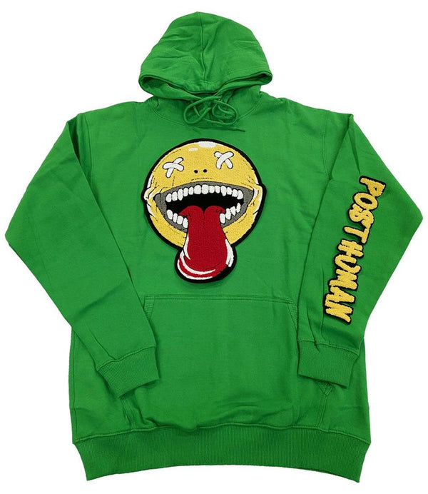 Rawyalty-Happy Day Chenille Hoodie-Green
