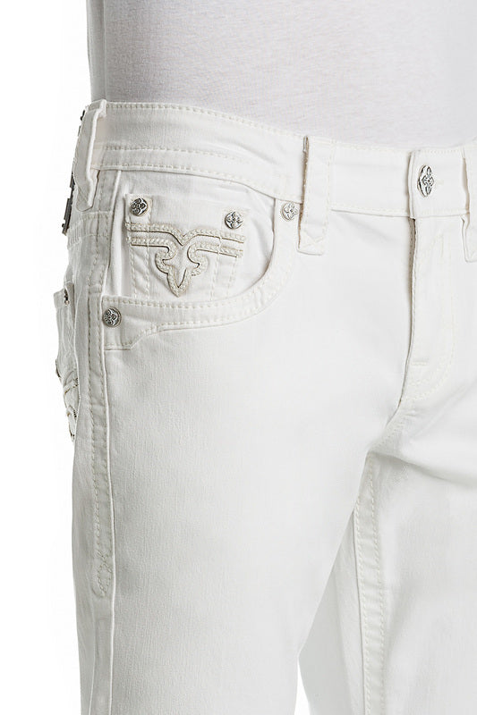 Rock revival-ARTHER-White-MJ-RP2311A204