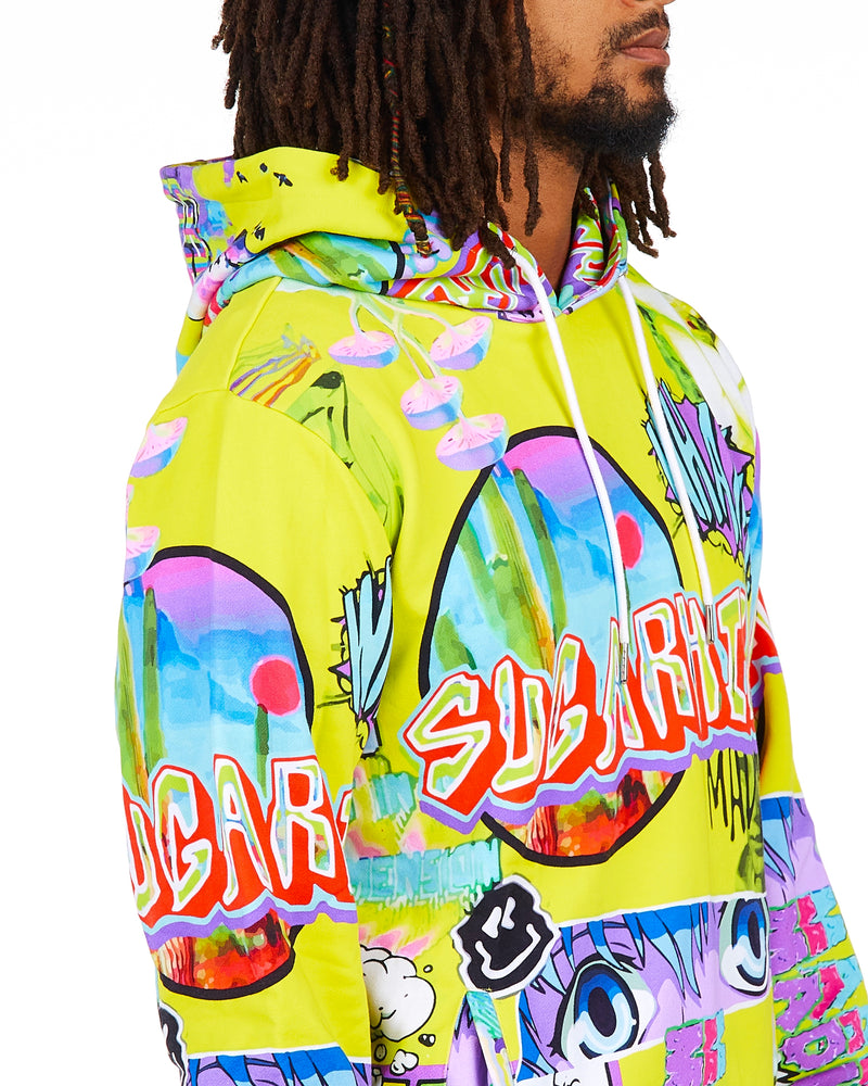 Sugarhill-Lucid Dream Hoodie-Lemon