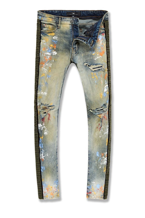Jordan Craig-Ross-Vegas Striped Denim 2.0-Desert Storm-JM3466
