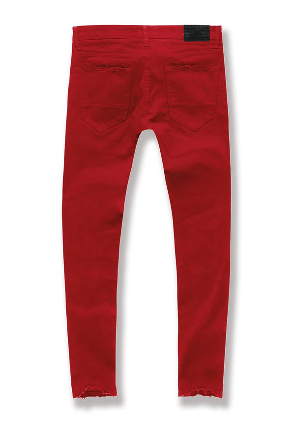 Jordan Craig-Aaron-Tribeca Twill Pants-Red-JA91521R