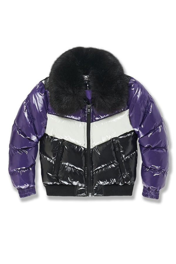 Jordan Craig Kids-Sugar Hill Nylon Puffer Jacket-Court Purple-91505AB