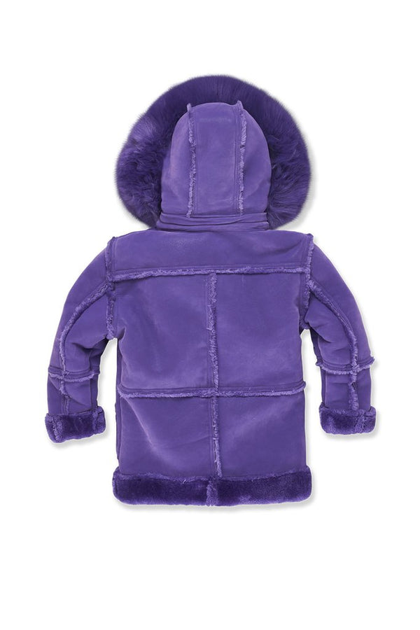 Jordan Craig Kids-Denali Shearling Jacket-Purple-91445K