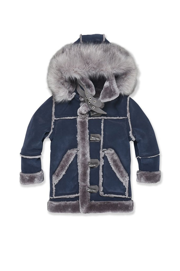 Jordan Craig Kids-Denali Sherling Jacket-Midnight Smoke-91445K