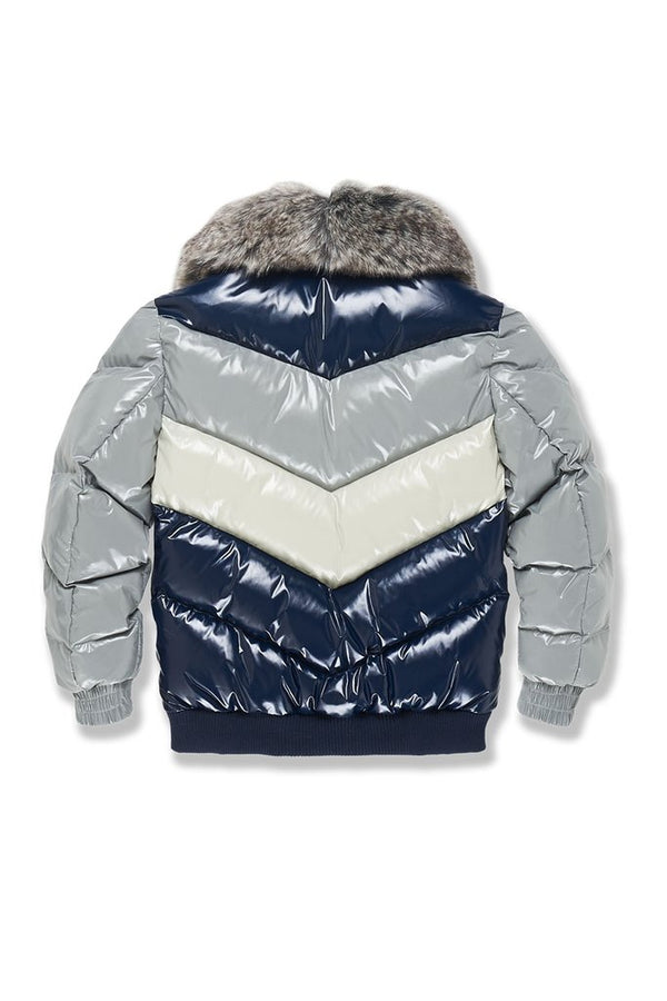 Jordan Craig Kids-Sugar Hill Nylon Puffer Jacket-London Blue-91505K