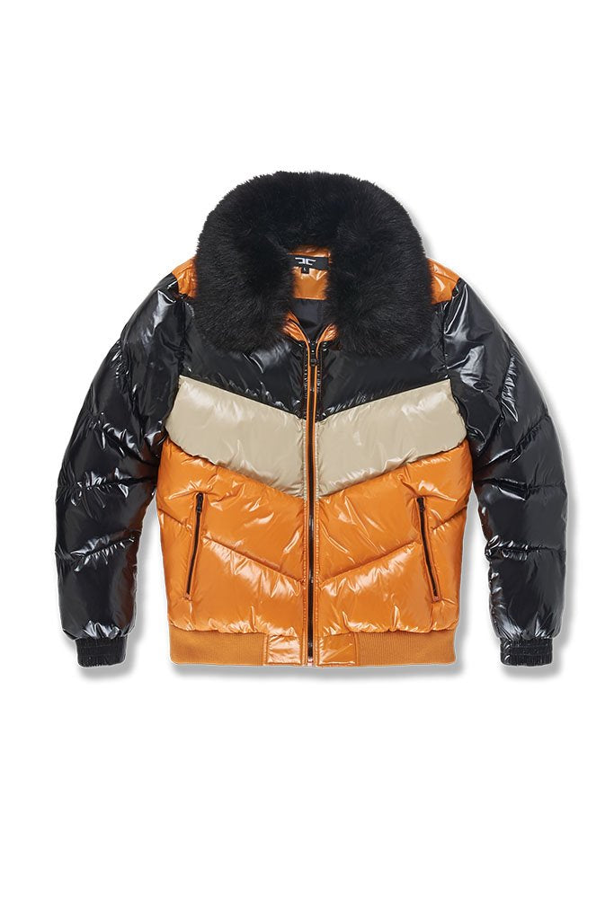 Jordan Craig-Sugar Hill Puffer Jacket-Black Starfish