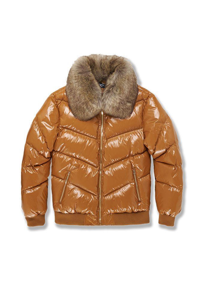 Jordan Craig-lenox Nylon Puffer Jacket 2.0-Timber Weat