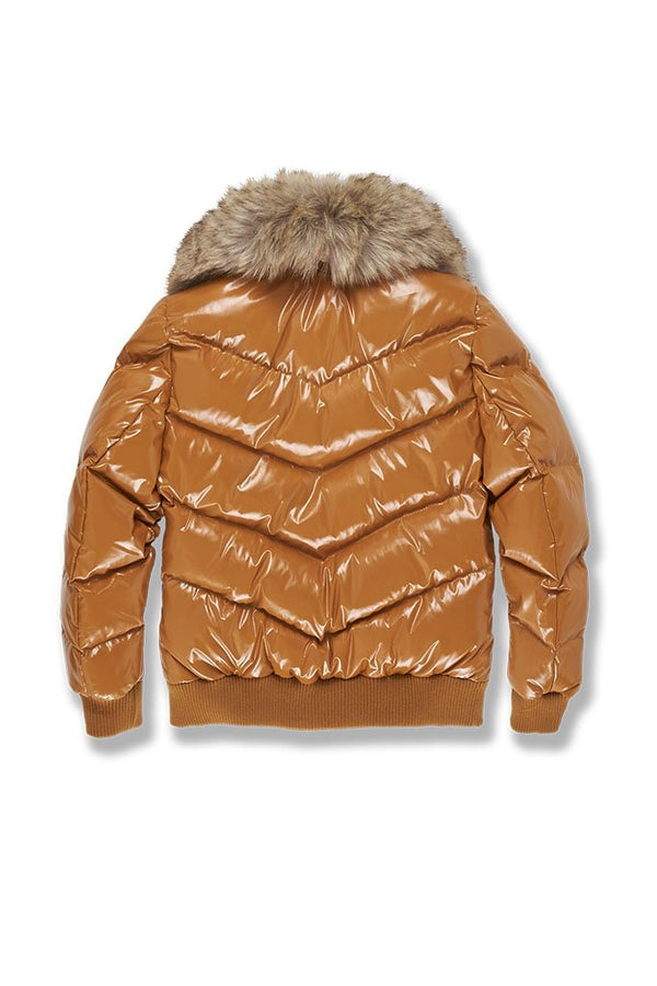 Jordan Craig Kids-Lenox Nylon Puffer Jacket 2.0-Timber Wheat