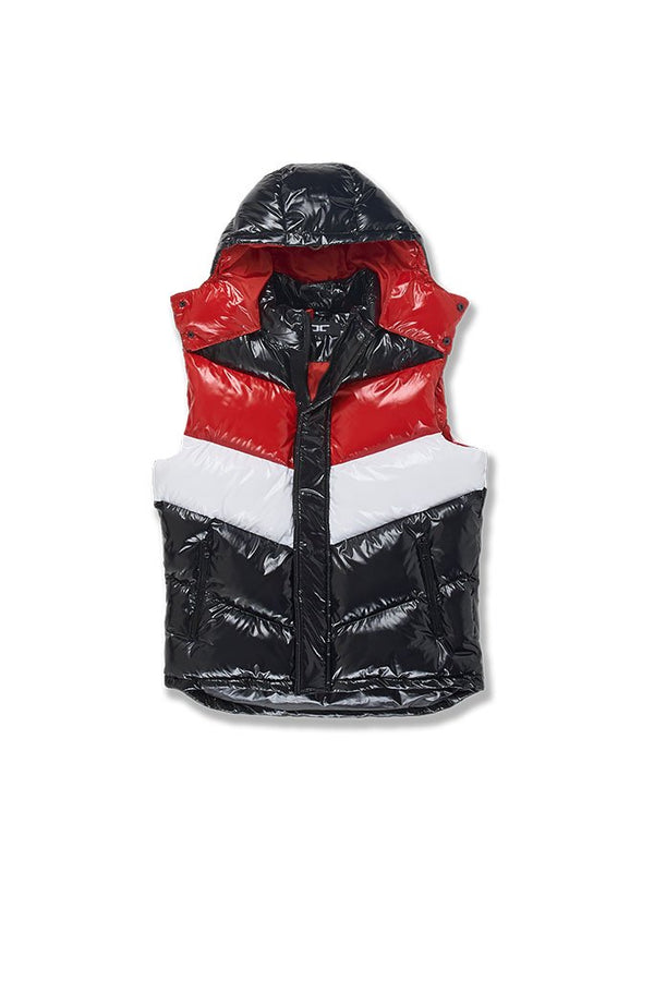 Jordan Craig-Sugar Hill Puffer Vest-Red
