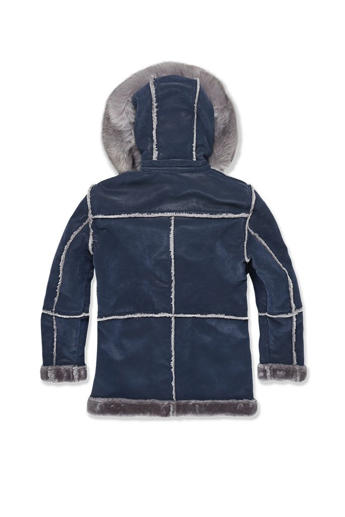 JORDAN CRAIG-DENALI SHEARLING JACKET (MIDNIGHT SMOKE)-91445