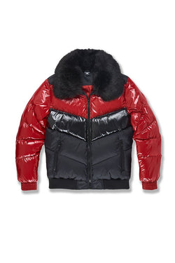 Jordan Craig-Sugar Hill Puffer Jacket-Crimson