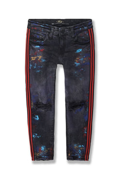 Jordan Craig Kids-Talladega Striped Denim-Raptor-JM3419K
