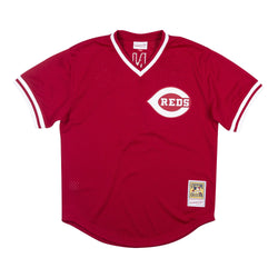 Authentic BP Jersey Cincinnati Reds 1983 Johnny Bench