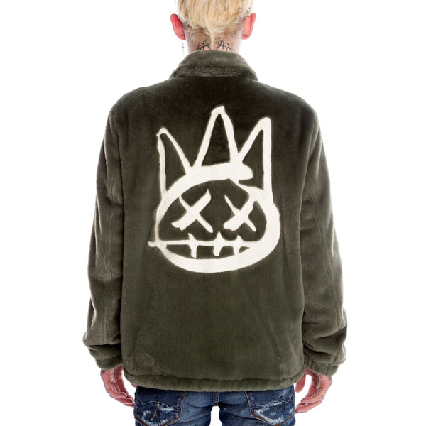 Cult of Individuality-Coaches Jacket-Green-620B11-JC39A