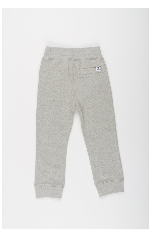 B.B.C Kids-BB Two Tone Jogger-Heather Grey