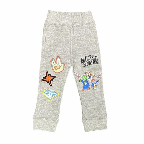 B.B.C Kids-BB Go Team Jogger-Heather Grey
