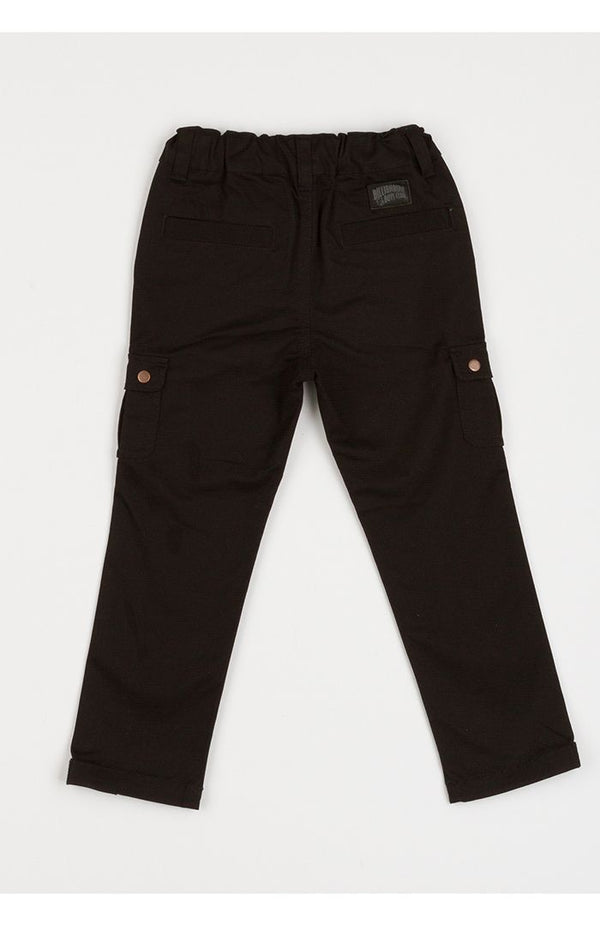 B.B.C Kids-BB Cargo Pants-Black