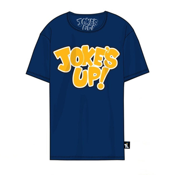 Jokes Up Tee-Blue