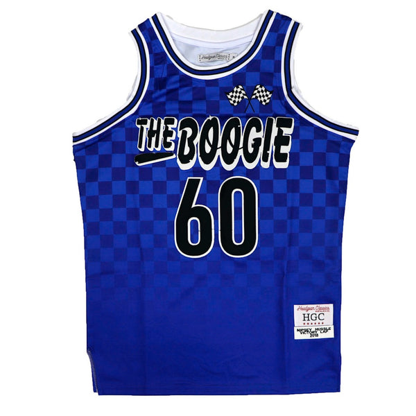 Nipsey Boogie Tournament Basketball Jersey-Royal