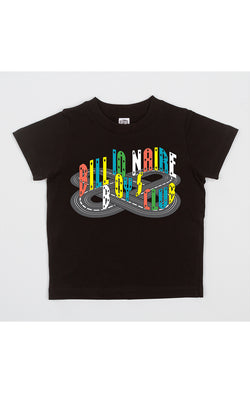 B.B.C Kids-BB Race Track S/S Tee-Black